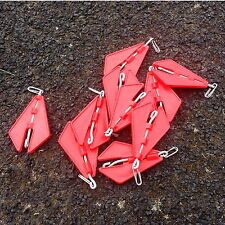 LEAD LIFTS (QTY 8) PIER ROCK BEACH SEA FISHING TACKLE FOR BAIT RIGS LINE CLIPS