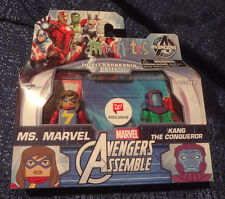 Marvel Minimates Walgreens Exclusive MS. MARVEL & KANG THE CONQUEROR 2 Pack NEW