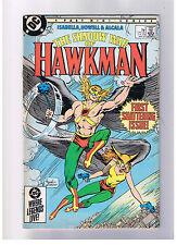 DC COMICS THE SHADOW WAR OF HAWKMAN #1 MAY 1985 FN
