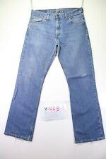 Levi's 507 (Cod. Y1445) tg47 W33 L34 jeans Vita Alta usato vintage levis zampa