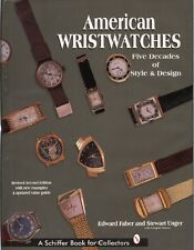 Book AMERICAN WRISTWATCHES: Five Decades of Style and Design- Elgin Bulova +