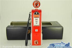 MOHAWK PETROL GAS PUMP MODEL 1:18 SCALE WAYNE ROAD SIGNATURE GARAGE ACCESSORY K8