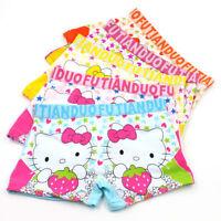 Wholesale children girls underwear cotton cotton boxer briefs