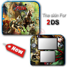 The Legend of Zelda Twilight Princess Skin Sticker Decal Cover for Nintendo 2DS
