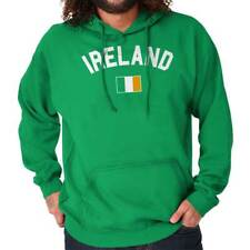 St. Patrick's Ireland Country National Irish Soccer Hoodie Sweatshirt Shirt