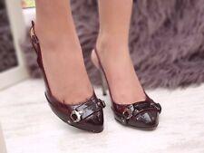 Authentic Dolce & Gabbana D&G DG Heels Shoes Sandals Pumps