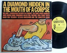 William Burroughs Diamanda Galas THE MOUTH OF A CORPSE Giorno Poetry Systems lp