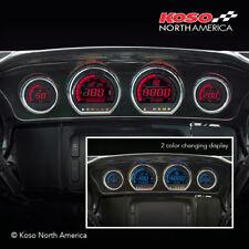 Koso BA064900, Digital Gauge Set for Harley Touring Models Baggers, 2014-Present