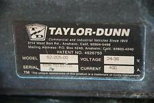 TAYLOR DUNN B0-248-36 PARKING BRAKE 2909T4 52865//30