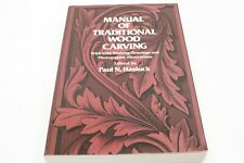 Manual of Traditional Wood Carving How To Carve Book Information Guide Technique