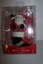 Grasslands Road Stack-able Santa and Santa's Boot Salt & Pepper Shaker Set