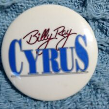 """NOS BILLY RAY CYRUS 1 3/4"""" BUTTON"""