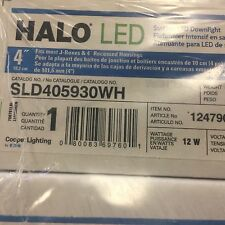 "Halo 4"" Surface Mount LED Downlight - SLD405930WH - 65W Equivalent - 3000K"