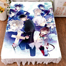Anime DIABOLIK LOVERS Smooth BedSheet Soft Blanket Queen Size 59""