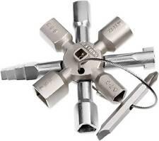 KNIPEX Schaltschrankschlüssel TwinKey 00 11 01 Schaltschrank Schlüssel NEU + OVP