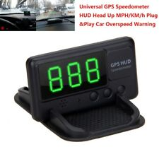 Newest Car Overspeed Warning C61 HUD GPS Digital Speedometer Head Up MPH/KM/h