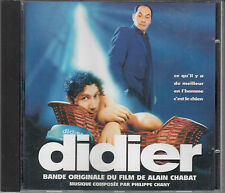 Didier Film Soundtrack Philippe Chant CD FASTPOST