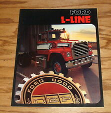Original 1974 Ford Truck L-Line Sales Brochure 74