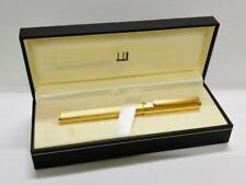 Authentic Alfred Dunhill Pen Gold Tone Color With Box PEN151