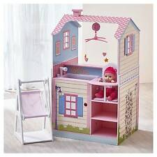 Teamson Kids Childrens 18 Inch Baby Dolls House Double Sided Nursery Station