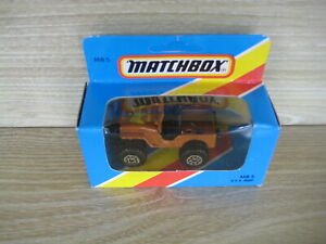 MATCHBOX SUPERFAST   MB5  4x4 JEEP GOLDEN EAGLE     ABSOLUTELY MINT
