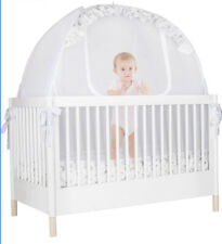 New listing Pro Baby Safety Pop up Crib Tent: Premium Baby Bed Canopy Netting Cover - See.