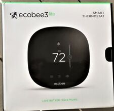 Ecobee 3 lite Smart Thermostat w/Touchscreen Black Eb-State3Lt-02 - Open Box