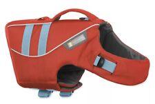 Ruffwear Wave Sockeye Red Dog Life Jacket Float Coat Swim Aid - Size M NEW