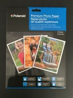 Polaroid 8.5 X 11 Premium Glossy Photo Paper - 8 Sheets Per Pack