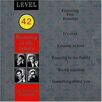 Level 42 Running in the family-Platinum edition (1987) [CD]