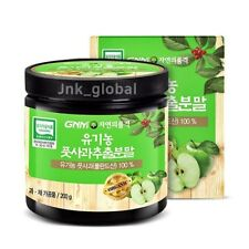 GNM Organic Green Apple Powder Peel Extract Tea Organic Fruit Vitamin C 200g