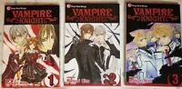 Vampire Knight Vol 1-3 manga