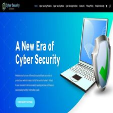 Cyber Security Wordpress Website With Woocommerce Shop