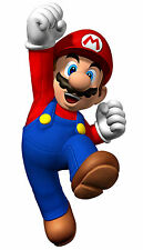 "Super Mario - Bros Game Baby Cute Fabric poster 21"" x 13"" Decor 01"