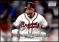 Freddie Freeman 2019 Topps Stadium Club 5x7 #27 /49 Braves