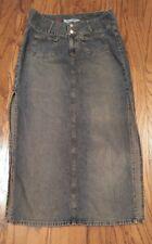 Paris Blues Denim Jr. Women's Skirt Size 11 side slits