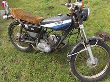 YAMAHA DT100 1980 BARN FIND RESTORATION PROJECT V5 PRESENT.