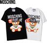 NEW MEN'S WOMEN Moschino Teddy bear Top Tee SHORT SLEEVE T-SHIRT Shirts 2019