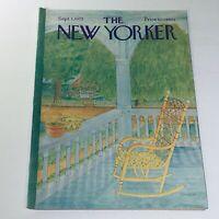 The New Yorker: September 1 1975 Jenni Oliver Cover full magazine