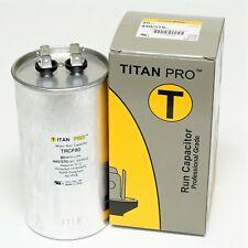 TitanPro Trcf80 Hvac Round Motor Run Capacitor. 80 Mfd/Uf 440/370 Volts