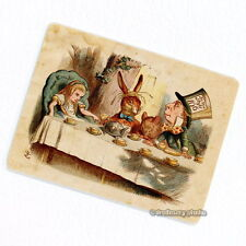 Alice in Wonderland Deco Magnet, Mad Tea Party #1 Color Decorative Fridge Décor