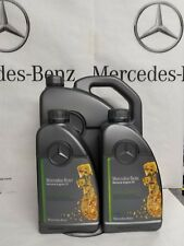 Genuine Mercedes-Benz 229.51 Engine Oil Synthetic Diesel Low Ash 7L oil change