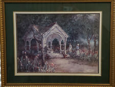 """Donny Finley """"The Gazebo"""" Framed, Signed and Numbered!"""