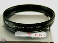 Carl Zeiss Hasselblad Objektiv Filter Lens Nahlinse Close-up Bajonett B-50 820/9