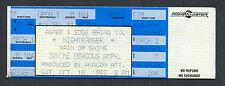 1987 Nightranger Unused Full Concert Ticket Irvine Meadows 7 Wishes