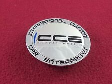 International Custom Car Ent. Wheels Chrome Custom Wheel Center Cap # 857K72