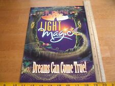 Light Magic show opens Disneyland Line 1997 Employee cast member magazine