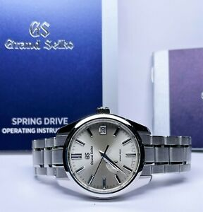 Grand Seiko Heritage Collection SBGA373 Power Reserve Spring Drive Auto Watch