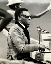 1974  Ray Charles  Original Vintage Ron Tom Photo