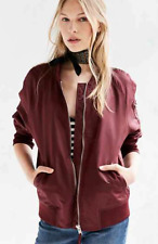 Urban Outfitters, Silence + Noise Rita Shell Bomber Jacket, One Size Fits Most